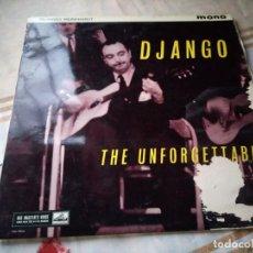 Discos de vinilo: DJANGO REINHARDT ?– THE UNFORGETTABLE, HIS MASTER'S VOICE. Lote 132609794
