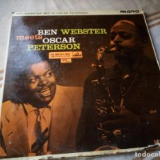 Discos de vinilo: BEN WEBSTER MEETS OSCAR PETERSON ?– BEN WEBSTER MEETS OSCAR PETERSON.1980. Lote 132610602