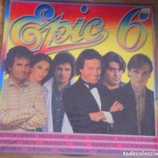 Discos de vinilo: DISCO EPIC 6. Lote 132610942