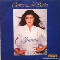 Discos de vinilo: JEANETTE – CORAZÓN DE POETA (ESPAÑA, 1981). Lote 132611378