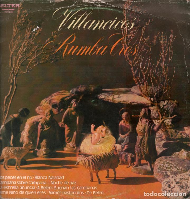 RUMBA TRES - VILLANCICOS - LOS PECES EN EL RIO, BLANCA NAVIDAD....LP BELTER DE 1982 ,RF-6423 segunda mano