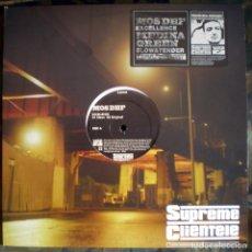 Discos de vinilo: MOS DEF / MEDINA GREEN – EXCELLENCE / SLOW AND TENDER USA 2005 HIP HOP. Lote 132624966