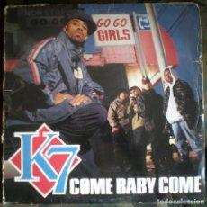 Discos de vinilo: K7 – COME BABY COME / I'LL MAKE YOU FEEL SO GOOD - TOMMY BOY 1993 HIP HOP . Lote 132626118