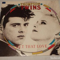 Discos de vinilo: THOMPSON TWINS ( GET THAT LOVE 2 VERSIONES - PERFECT DAY ) ENGLAND-1987 MAXI45 ARISTA. Lote 132632646