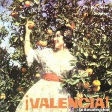 Discos de vinilo: BANDA UNIÓN MUSICAL DE LÍRIA – ¡VALENCIA! + 3 TEMAS - EP DISCOPHON 1966. Lote 132637154