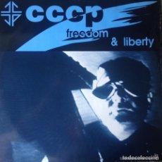 Discos de vinilo: C. C. C. P - FREEDOM & LIBERTY - 1991. Lote 132647378