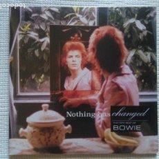 Discos de vinilo: DAVID BOWIE - '' NOTHING HAS CHANGED '' 2 LP GATEFOLD EU 2014 SEALED. Lote 132648994