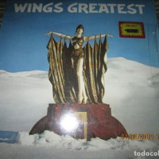 Discos de vinilo: WINGS - GREATEST LP - ORIGINAL CANADA. LP - CAPITOL 1978 CON FUNDA INTERIOR Y POSTER GIGANTE -. Lote 132667374