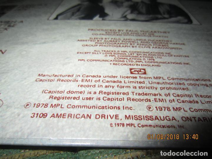 Discos de vinilo: WINGS - GREATEST LP - ORIGINAL CANADA. LP - CAPITOL 1978 CON FUNDA INTERIOR Y POSTER GIGANTE - - Foto 6 - 132667374