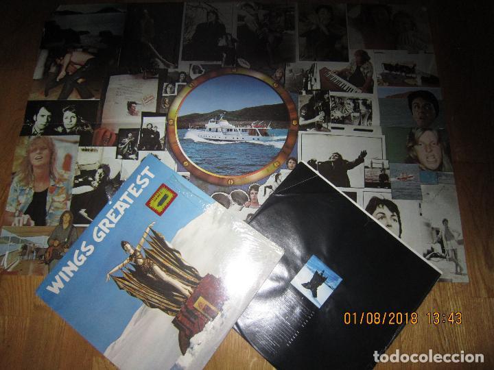 Discos de vinilo: WINGS - GREATEST LP - ORIGINAL CANADA. LP - CAPITOL 1978 CON FUNDA INTERIOR Y POSTER GIGANTE - - Foto 16 - 132667374