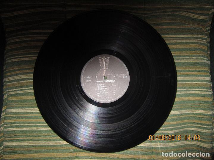 Discos de vinilo: WINGS - GREATEST LP - ORIGINAL CANADA. LP - CAPITOL 1978 CON FUNDA INTERIOR Y POSTER GIGANTE - - Foto 19 - 132667374