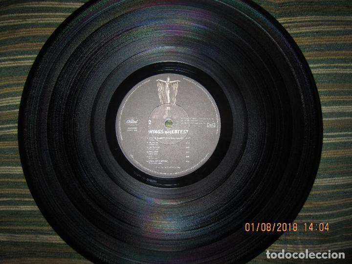 Discos de vinilo: WINGS - GREATEST LP - ORIGINAL CANADA. LP - CAPITOL 1978 CON FUNDA INTERIOR Y POSTER GIGANTE - - Foto 30 - 132667374