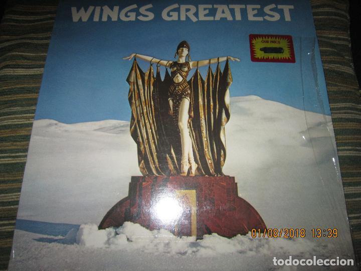 Discos de vinilo: WINGS - GREATEST LP - ORIGINAL CANADA. LP - CAPITOL 1978 CON FUNDA INTERIOR Y POSTER GIGANTE - - Foto 31 - 132667374