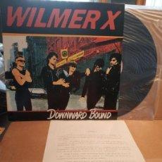 Discos de vinilo: WILMER X LP DOWNWARD BOUND + HOJA PROMOCIONAL NUEVO. Lote 132667258