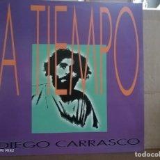 Discos de vinilo: DIEGO CARRASCO LP A TIEMPO. Lote 132670094