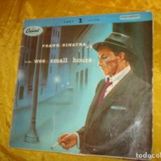 Discos de vinilo: FRANK SINATRA. IN THE WEE SMALL HOURS. CAPITOL, 1955. EDC. INGLESA. 10´. IMPECABLE. Lote 132671150