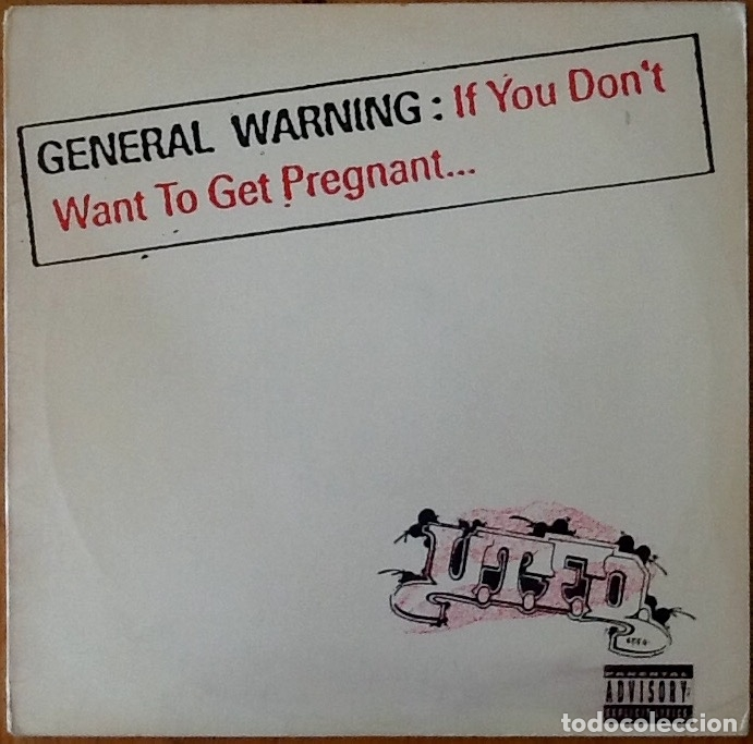 UTFO : IF YOU DON'T WANNA GET PREGNANT [USA 1990] 12' (Música - Discos de Vinilo - Maxi Singles - Rap / Hip Hop)