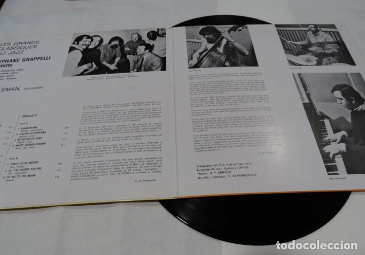 Discos de vinilo: Les grands classiques du jazz Stephane Grappelli Quintet. Featuring Bill Coleman DOBLE LP 1976 - Foto 3 - 132676018