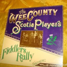 Discos de vinilo: THE WEE COUNTRY SCOTIA PLAYERS. FIDDLERS RALLY. DJM, 1977. EDIC. INGLESA. Lote 132678862
