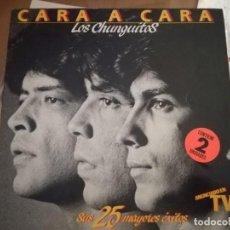 Discos de vinilo: LOS CHUNGUITOS. CARA A CARA.. Lote 132681526