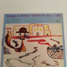 Discos de vinilo: ANTOLOGIA DE CANCIONES INFANTILES DE CORRO Y RUEDA ( 1968 MOVIEPLAY ESPAÑA ) BUEN ESTADO GENERAL. Lote 132688518