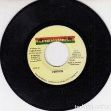 Discos de vinilo: CAPLETON - DON'T TRY TO TRICK I - SINGLE JAMAICANO DE VINILO REGGAE. Lote 132689858