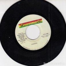 Discos de vinilo: CAPLETON - JAH CAUGHT THEM - SINGLE JAMAICANO DE VINILO REGGAE. Lote 222219650