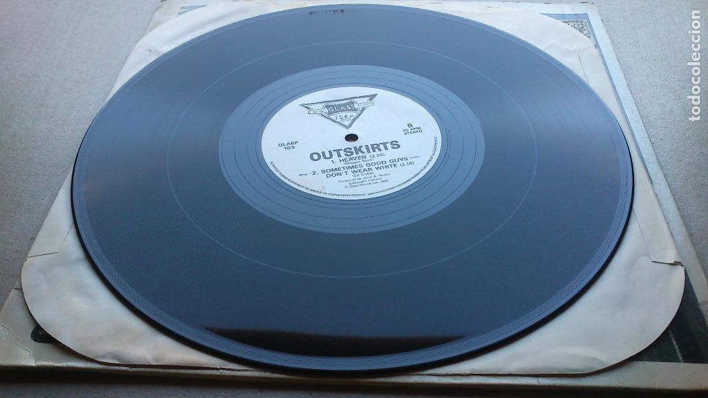 Discos de vinilo: OUTSKIRTS - DOWN - 1986 - EP - GLASS RECORDS - Foto 4 - 132694542