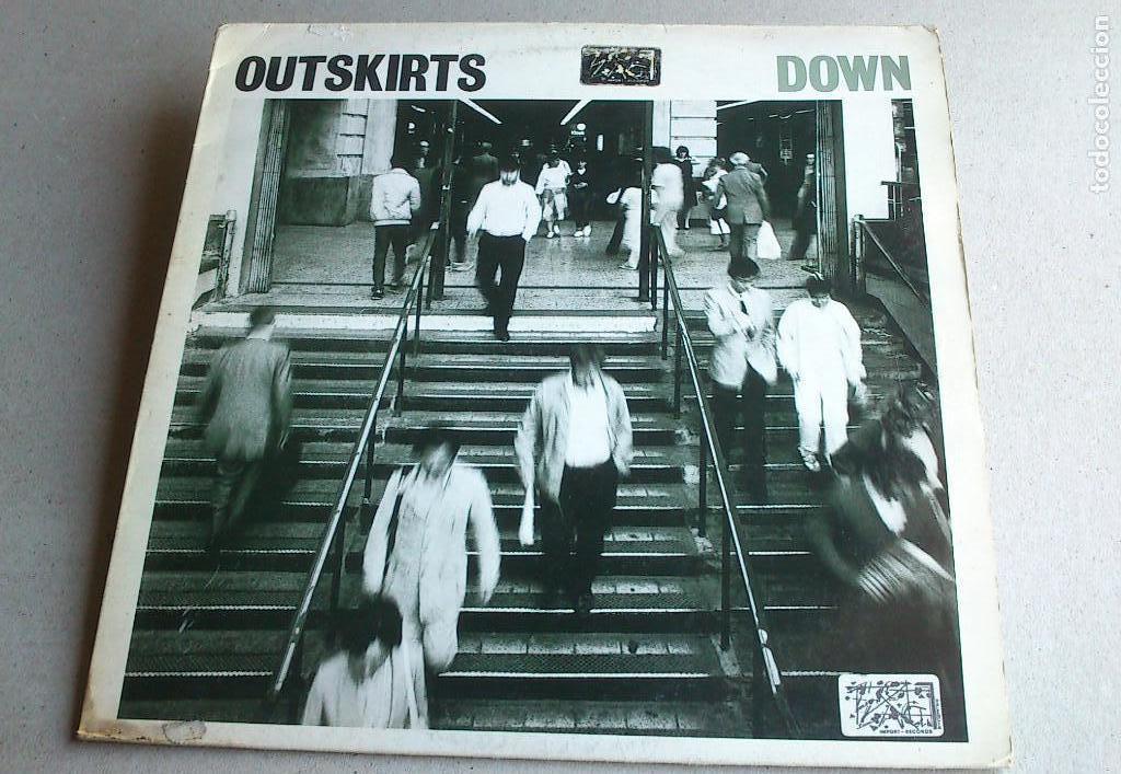 OUTSKIRTS - DOWN - 1986 - EP - GLASS RECORDS (Música - Discos de Vinilo - EPs - Pop - Rock - New Wave Extranjero de los 80)