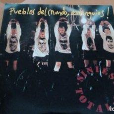 Discos de vinilo: SINIESTRO TOTAL PUEBLOS DEL MUNDO EXTINGUIOS MAXI 1982. Lote 132694766