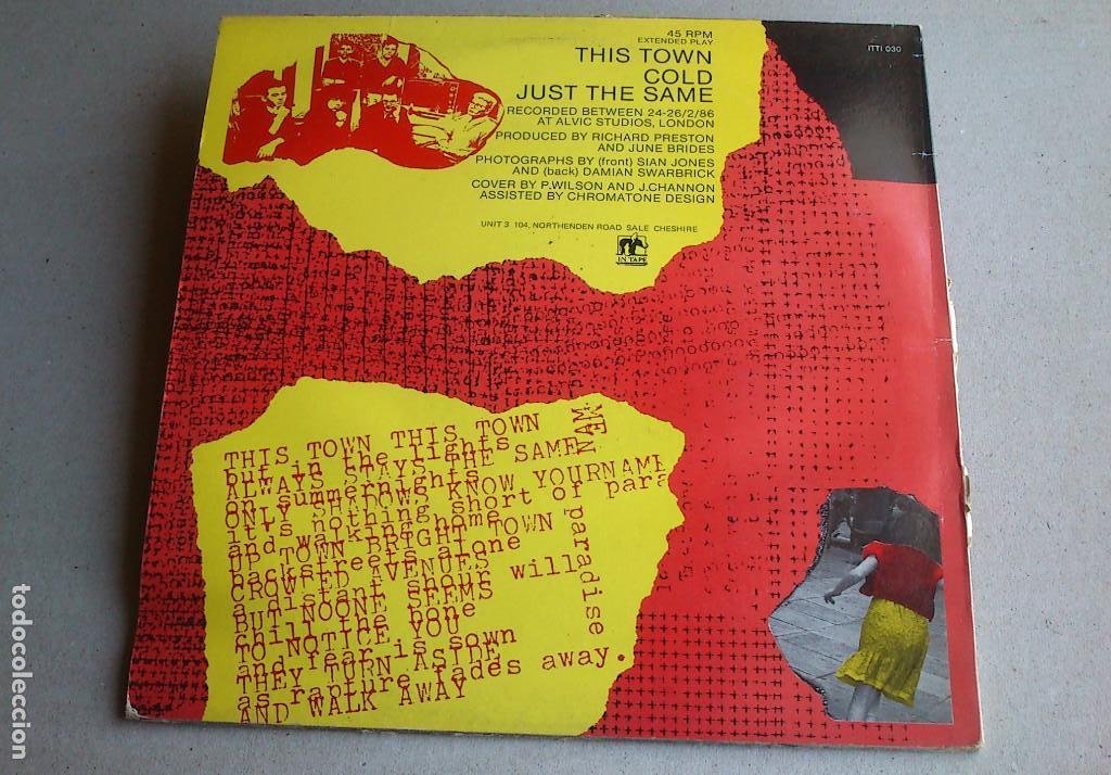 Discos de vinilo: THE JUNE BRIDES - THIS TOWN - 1986 - EP - Foto 9 - 132698550