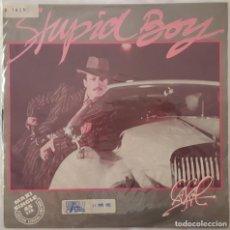 Discos de vinilo: MAXI - TINO CASAL - STUPID BOY - HARVEST ?– 10C 052-021.856Z - 1982. Lote 132698730