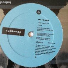 Discos de vinilo: ERIC B. AND RAKIM - I KNOW YOU GOT SOUL (SIX MINUTES OF SOUL) (THE DOUBLE TROUBLE REMIX) - 1988. Lote 132706122