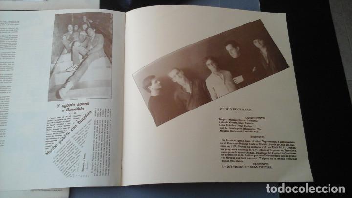 Discos de vinilo: Lo que hay que oir - Rock LP Accion Rock Band, Bucéfalo, Coup de Soupe, Mentira - Foto 4 - 132706518
