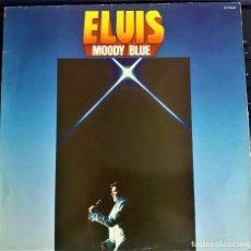 Discos de vinilo: ELVIS PRESLEY - MOODY BLUE - LP RCA FRANCIA 1977. Lote 102593010