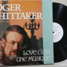 Discos de vinilo: ROGER WHITTAKER LOVE C'EST UNE MUSIQUE LP VINYL MADE IN GERMANY 1988. Lote 132711358