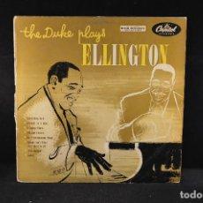 Discos de vinilo: DUKE ELLINGTON - THE DUKE PLAYS ELLINGTON - 10´´. Lote 132713986
