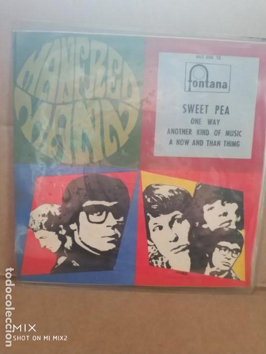 MANFRED MANN SWEET PEA + 3 TEMAS (Música - Discos de Vinilo - EPs - Pop - Rock Internacional de los 50 y 60)