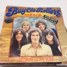 Discos de vinilo: BAY CITY ROLLERS - MAÑANA (7--, SINGLE). Lote 132731946