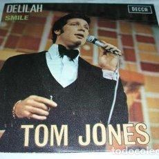 Discos de vinilo: TOM JONES - DELILAH - SINGLE. Lote 132738578