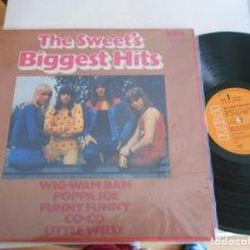Discos de vinilo: THE SWEET'S-LP BIGGEST HITS-LONDON 1972. Lote 132739182