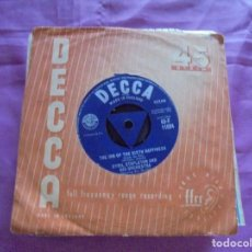 Discos de vinilo: CYRIL STAPLETON . NICK NACK PADDY WHACK / THE INN OF THE SIXTH HAPPINESS. DECCA,1958. EDC. INGLESA.. Lote 132742698