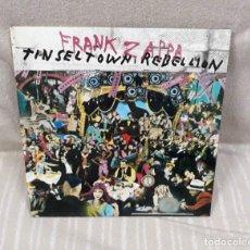 Discos de vinilo: FRANK ZAPPA - TINSEL TOWN REBELLION 2 LP - CBS, 1981. Lote 182964235