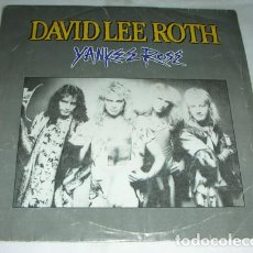 Disques de vinyle: DAVID LEE ROTH – YANKEE ROSE - SINGLE PROMO. Lote 132745542