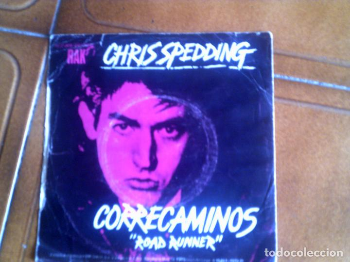 SINGLE DE CHRIS SPEDDING ,ROAD RUNNER (Música - Discos de Vinilo - Maxi Singles - Pop - Rock Extranjero de los 70)