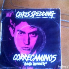 Discos de vinilo: SINGLE DE CHRIS SPEDDING ,ROAD RUNNER. Lote 132750442