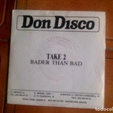 Discos de vinilo: SINGLE DON DISCO . Lote 132752482