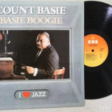 Discos de vinilo: COUNT BASIE BASIE BOOGIE LP VINYL MADE IN SPAIN 1983. Lote 132754582