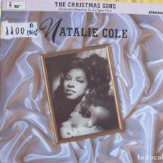 Discos de vinilo: 10 PULGADAS - NATALIE COLE - THE CHRISTMAS SONG (ELEKTRA RECORDS 1991). Lote 132755062