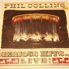 Discos de vinilo: PHIL COLLINS ( SERIOUS HITS... LIVE! ) 1990 - GERMANY DOBLE LP33 WEA RECORDS. Lote 132755202